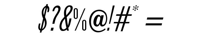 OPTIPhoenix-Nine-Italic Font OTHER CHARS
