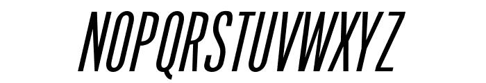 OPTIPhoenix-Nine-Italic Font UPPERCASE