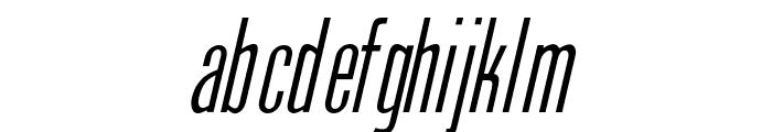 OPTIPhoenix-Nine-Italic Font LOWERCASE