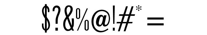 OPTIPhoenix-Nine Font OTHER CHARS