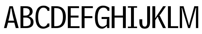 OPTIPhoneCentral-A Font UPPERCASE