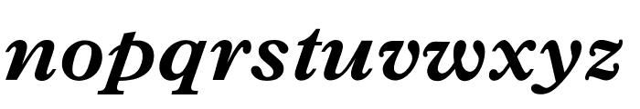 OPTIPlanet-BoldItalic Font LOWERCASE