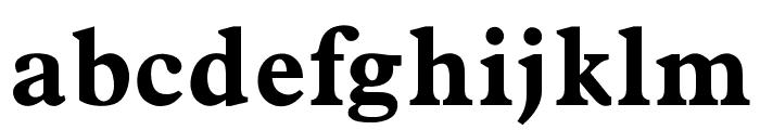 OPTIPlanet-Bold Font LOWERCASE