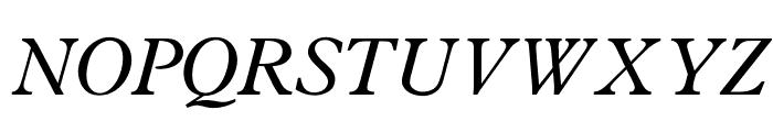 OPTIPlanet-Italic Font UPPERCASE