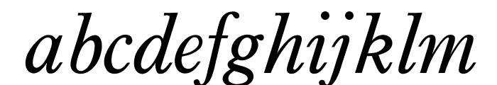 OPTIPlanet-Italic Font LOWERCASE