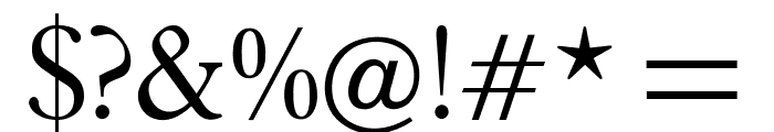 OPTIPlanet-Light Font OTHER CHARS