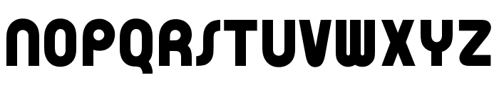 OPTIPoppoMod-Bold Font UPPERCASE