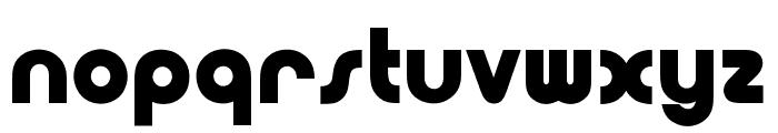 OPTIPoppoMod-Bold Font LOWERCASE
