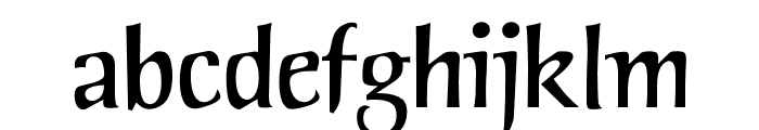 OPTIPortsMouth Font LOWERCASE