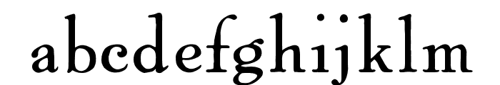 OPTIPowell-OldStyle Font LOWERCASE