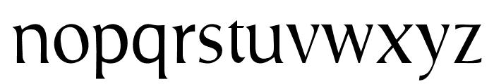 OPTIPrescribe-Agency Font LOWERCASE