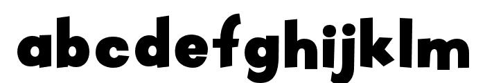 OPTIPueblo Font LOWERCASE