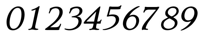 OPTIQuezonBook-Italic Font OTHER CHARS