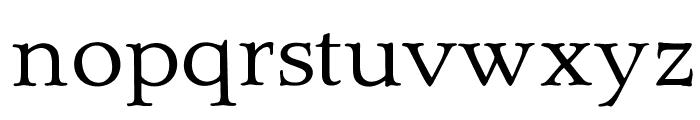 OPTIQuezonRoman-Book Font LOWERCASE
