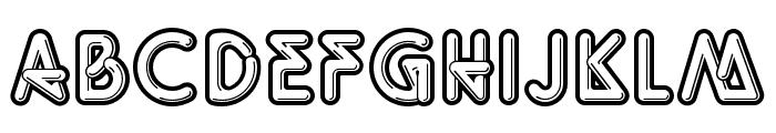 OPTIQuicky Font UPPERCASE