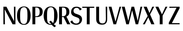 OPTIRadiant-Bold Font UPPERCASE
