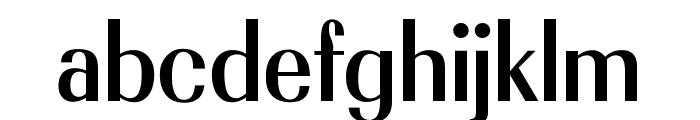 OPTIRadiant-Bold Font LOWERCASE
