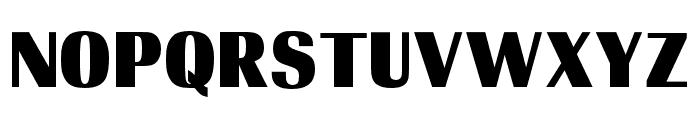 OPTIRadiant-ExtraBold Font UPPERCASE