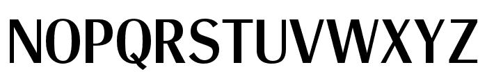 OPTIRadiant-Medium Font UPPERCASE