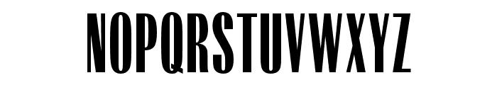 OPTIRadiant-MediumCond Font UPPERCASE