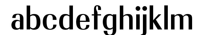 OPTIRadiant-Medium Font LOWERCASE