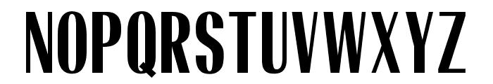 OPTIRadiantBold-Condensed Font UPPERCASE
