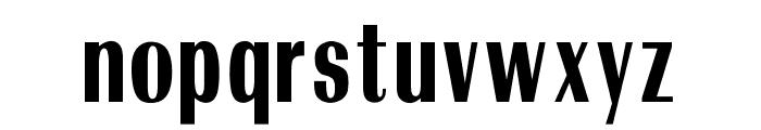 OPTIRadiantBold-Condensed Font LOWERCASE