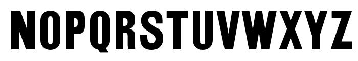 OPTIRailroadGothic Font LOWERCASE
