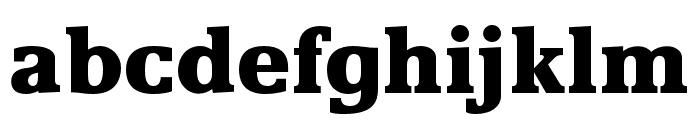OPTIRemy-Bold Font LOWERCASE