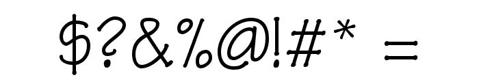 OPTIRipple-Regular Font OTHER CHARS