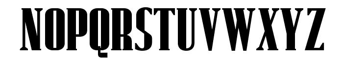 OPTIRollie Font UPPERCASE