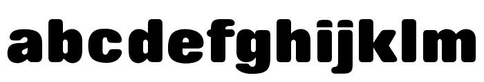 OPTIRollingExtraBoldNoOne Font LOWERCASE