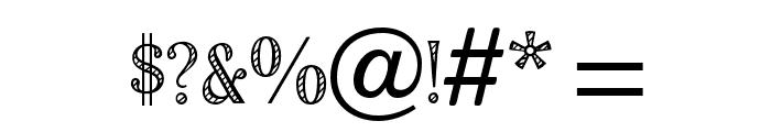 OPTIRomanC-Shaded Font OTHER CHARS