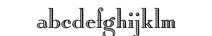 OPTIRomanC-Shaded Font LOWERCASE