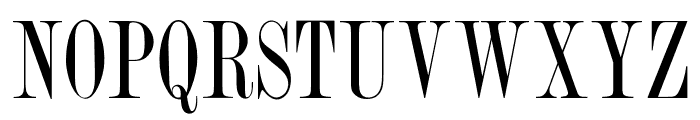 OPTIRomanCompressed Font UPPERCASE