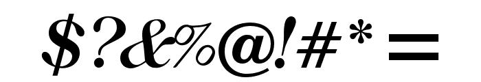OPTIRonaldson-Slope Font OTHER CHARS