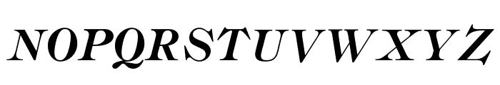 OPTIRonaldson-Slope Font UPPERCASE