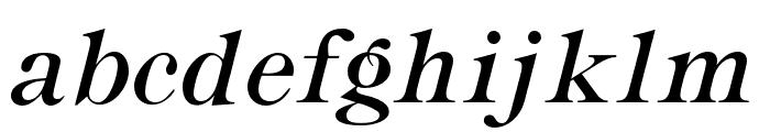 OPTIRonaldson-Slope Font LOWERCASE