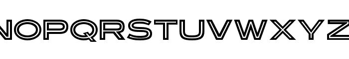 OPTIRonsard-Crystal Font UPPERCASE
