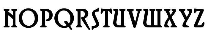 OPTIRossano Font UPPERCASE