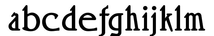 OPTIRossano Font LOWERCASE