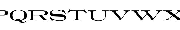 OPTIRoyal Font UPPERCASE