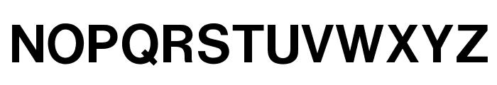 OPTIRussian-Gothic Font UPPERCASE