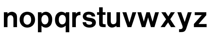 OPTIRussian-Gothic Font LOWERCASE