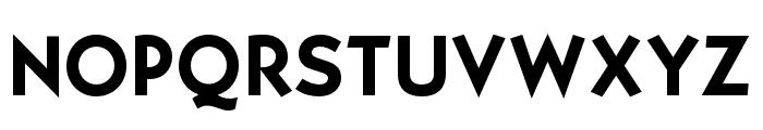 OPTISallyMae-DemiBold Font UPPERCASE