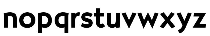 OPTISallyMae-DemiBold Font LOWERCASE