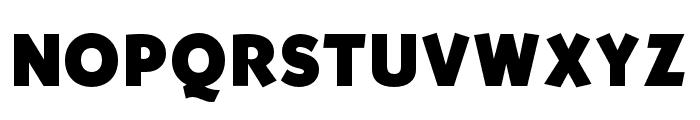 OPTISallyMae-ExtraBold Font UPPERCASE