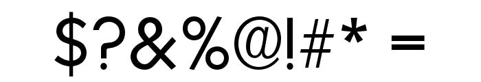 OPTISallyMae-Light Font OTHER CHARS
