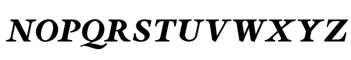 OPTISapir Font UPPERCASE