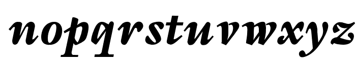 OPTISapir Font LOWERCASE